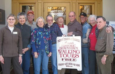 Courtesy photo<br> Left to right are Laura Zambrano, Carol Miller, Ron Mayes, Katherine Conroy, Ken Edwards, Duane Atteberry, Mike King, Larry Richey, Lucy Hanson and Norm Delucchi.