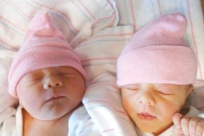 Guinneviere Jocelynn and Danielle Deanna Folkman
