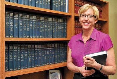 """Courier file photo><br>Judge Celé Hancock, who presides over the county's mental health court, said the county's Restoration to Competency program, based at the Camp Verde jail, is a """"much better alternative"""" than sending defendants diagnosed as incompetent to sending them to the Arizona State Hospital in Phoenix."""