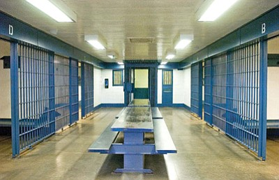 Courier File<br> Sheriff Scott Mascher says that reviving the Prescott jail is impractical for many reasons.