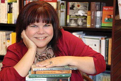 Courtesy photo<br> Prescott author Laraine Herring, director for the Yavapai College creative writing program, plans to explore the connection between writing and the body during a two-day writing retreat in Chino Valley June 21 and June 22.