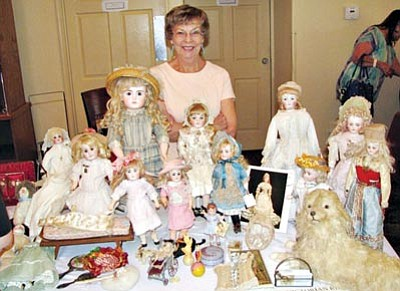 Courtesy photo<br>The fourth annual Doll Show and Sale is 10 a.m. to 4 p.m. Saturday at La Quinta Inn and Suites, 4499 E. Highway 69, Prescott.