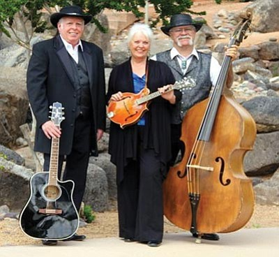 Courtesy photo<br>Steve Christiansen, Deanna Killebrew and Ken Killebrew will perform in the Johnny Cash Tribute Show Friday afternoon in the gazebo on the courthouse plaza.