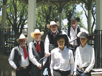 Courtesy photo<br> The New Prescott Playboys headline the Prescott Opry at the Elks Theatre Thursday.