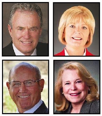 Noel Campbell, Sean Englund, Karen Fann and Linda Gray