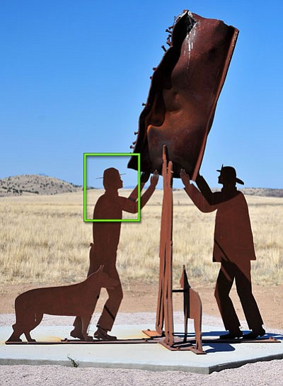 "ANSWER for this past week:<br /><br /><!-- 1upcrlf2 --><br /><br /><!-- 1upcrlf2 -->Last week's clue was ""Never forget,"" and Rick Nichols of Chino Valley recognized the photo as part of the 9/11 Monument at the Chino Valley Shooting Facility off of Perkinsville Road. Great job, Rick! At the end of the month we'll put all correct spotters' names of the weekly ""What is it, Where is it?"" winners together, and one will win a gift certificate for breakfast or lunch for two at SueAnn's Apple Pan Restaurant in Prescott. Keep guessing, and remember to give ""what"" it is and ""where"" it is.<br /><br /><!-- 1upcrlf2 -->"