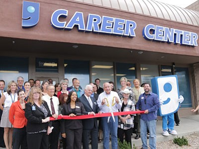 Goodwill opened its first Career Center in Prescott – its 22nd nationwide. The career center assists job-seekers with resume creation, computer training, and job searching. This is a free community service with noappointmentrequired. Visit the center at 1385 Iron Springs Road 9 a.m. to 5 p.m. Mondays through Fridays. (Courtesy Photo)