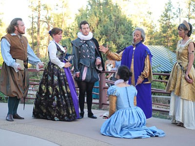 "The Blue Rose History and Culture Center in Prescott Valley presents ""A Midsummer Night's Dream"" on Sunday. (Les Stukenberg/The Daily Courier)"