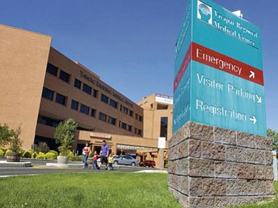 Yavapai Regional Medical Center (The Daily Courier/file photo)