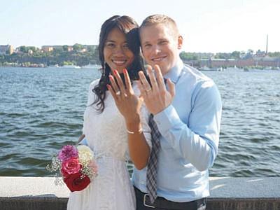 Mr. and Mrs. Seth Newton
