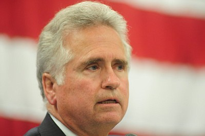 Superintendent of Public Instruction John Huppenthal lost his bid for a second term Tuesday. (The Daily Courier/file photo)