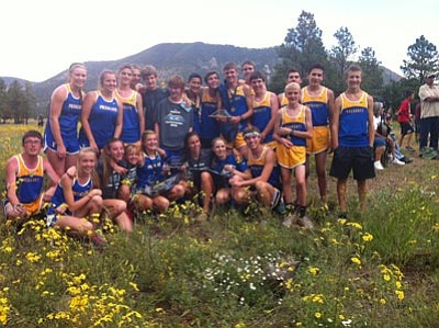 Courtesy photo<br>The Badgers had a strong showing Saturday in Flagstaff.