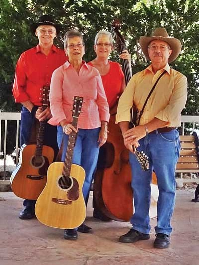 Courtesy photo<br> The Cinder Mountain Bluegrass Band will perform in the Prescott Opry show Thursday night at the Elks Theatre.
