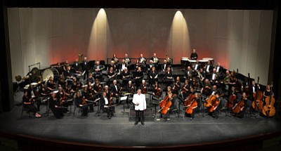 Paul Manz is conductor and music director of the Prescott POPS Symphony, which will perform Sunday at the Yavapai College Performing Arts Center. (Courtesy photo)