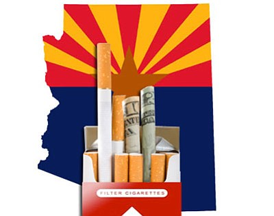 The state Department of Revenue estimates Arizona residents owe more than $20 per carton for purchases made after 2006 over the Internet.