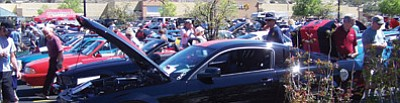 "Courtesy photo<br> ""Push it, Pull it, Trailer it or Drive it  to the Pony Only Mustang Cruise"" is  10 a.m. - 3 p.m. Saturday, Oct. 4, at the Highway 69 Walmart parking lot next to  In-N-Out Burger in Prescott. Registration and admission are free."