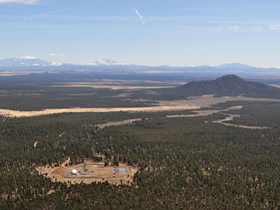 The Canyon Mine in the Kaibab National Forest south of the Grand Canyon removed uranium from deep within the earth during the 1980s. (Tara Alatorre/Courtesy photo)