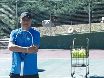 Liela Meyers/Courtesy photo<br> Eric Meyers is the new tennis pro at Prescott Athletic and Tennis Club in Prescott.
