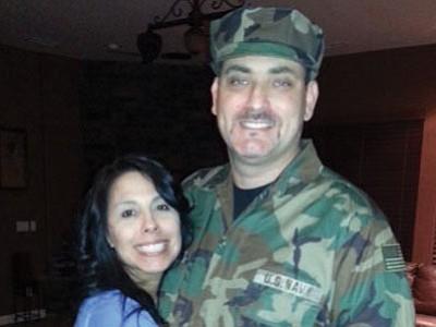 Tim Ramos and wife Krystina
