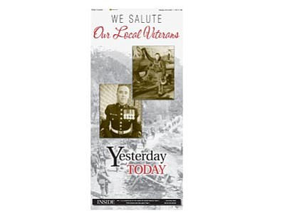 We Salute Our Local Veteran (cover)