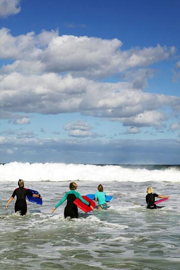 Thinkstock<br> As with life, surfing is best when you're prepared, and you let yourself go with the flow.