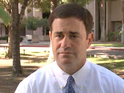 Courier file photo<br> Doug Ducey is Arizona's governor-elect.
