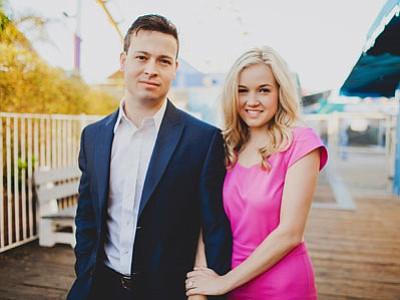 Heath Baker and Kelsey Kenson