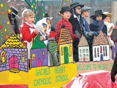 "The 32nd annual Christmas Parade starts at 1 p.m. Saturday in downtown Prescott. The theme is ""150 Years of Christmas Memories.""  (The Daily Courier, file)"