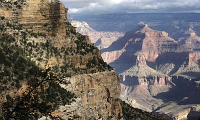 The Associated Press, file<br> This Oct. 22, 2012 file photo shows a view from the south rim of the Grand Canyon National Park.