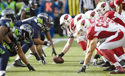 Stephen Brashear/The Associated Press<br>The last time the Cardinals and Seahawks lined up against each other, on Nov. 23 in Seattle, the Cards lost 19-3.