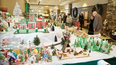 The Daily Courier, file<br>The Gingerbread Village at the Prescott Resort and Conference Center, 1500 Highway 69, is on display for just a few more days.