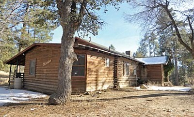 sep the log of cabins time daily weather test prescott news stands photo amazing cabin places
