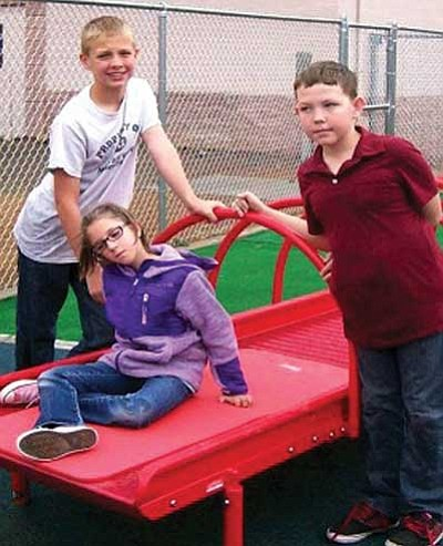From left, Josh Grant, Jacqueline Mayotte, and Nathan Edwards.