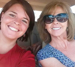 Kayla Mueller and her mother Marsha smile in this undated family photo. Islamic State militants claimed Friday that Kayla was killed in a Jordanian airstrike in the northern Syrian city of Raqqa, but no evidence of her death has been released. <br /><br /><!-- 1upcrlf2 -->