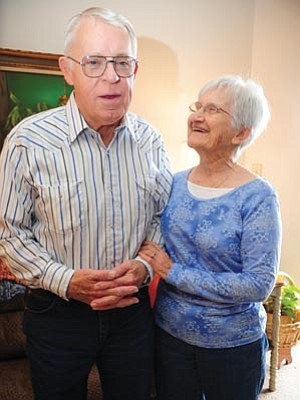 Les Stukenberg/The Daily Courier<br>Prescott residents Gayla and Bob Remp have been married since 1961. Bob has had two careers — one as a police officer and one as a minister in Chino Valley. Gayla was a preschool teacher in California and Prescott.
