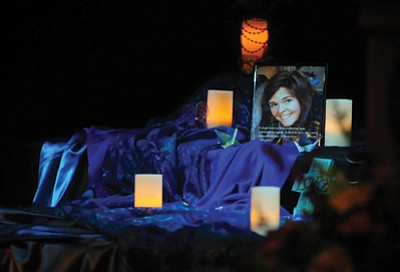 Kayla Mueller's memorial service was held Saturday. Les Stukenberg/The Daily Courier