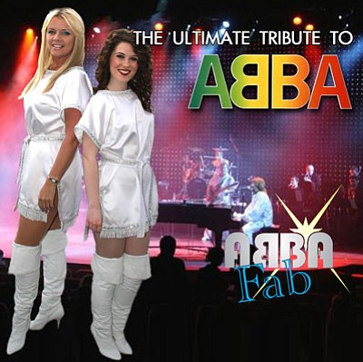 ABBA FAB will perform at the Elks Theatre and Performing Arts Center on Saturday, March 21. (Courtesy Photo/<br /><br /><!-- 1upcrlf2 -->Tad Management)