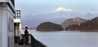 AP Photo/Elaine Thompson<br /><br /><!-- 1upcrlf2 -->A Washington state ferry passes through a channel in the San Juan islands and in view of Mount Baker Thursday, March 26, 2015, near Friday Harbor, Wash. People on San Juan island lost Internet and phone service for 10 days there in 2013. Other regions around the country also have fallen dark in recent years, sometimes for days at a time, because of failures or accidents affecting the nation's broadband infrastructure. The failures have revealed vulnerabilities in the backbone of the nation's high-speed Internet highway, which often lacks the detour routes necessary to quickly restore service when outages occur outside of major cities.<br /><br /><!-- 1upcrlf2 -->