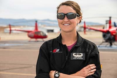 Photo courtesy of Guidance Aviation<br> Chelsi Nelson, instructor pilot at Guidance Aviation.