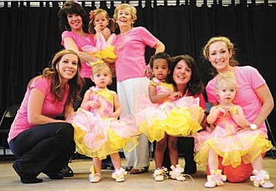 Les Stukenberg/The Daily Courier<br /><br /><!-- 1upcrlf2 -->Summer's DanceWorks will be holding a recital featuring dancers from ages 2 to 92 including Sue Chambers, and young dancers and their mom's Cambria Amstutz, Jewel Moody, Lizzy Meinholz and Finley Milisen.
