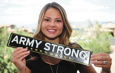 "Les Stukenberg/The Daily Courier <br /><br /><!-- 1upcrlf2 -->Sierra Rosdahl, president of Prescott High School's class of 2015, has received an appointment to the United States Military Academy at West Point and will be leaving on June 26 for boot camp. Rosdahl is following in her brother's footsteps: he is a third year ""cow""  and she will be a ""plebe"" this fall."