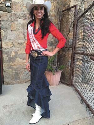 Jason Wheeler<br> Swearingin is the 2015 Miss Prescott Frontier Days and will be passing on her title.