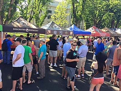 Les Stukenberg/The Daily Courier<br /><br /><!-- 1upcrlf2 -->There were plenty of brewers on hand at the 4th annual Mile High Brewfest.