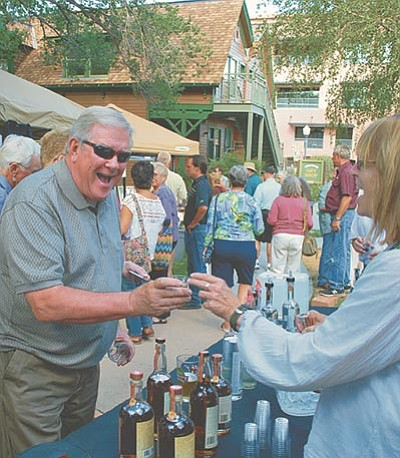 "Originally called ""Prescott Crush,"" the third annual Sharlot's Cellar wine tasting event will be Saturday, Aug. 22, at Sharlot Hall Museum in downtown Prescott. (Courtesy photo)"
