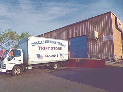 The Daily Courier, file photo<br>The Disabled American Veterans TRIFT STORE truck is not a misspelling – at least not anymore.