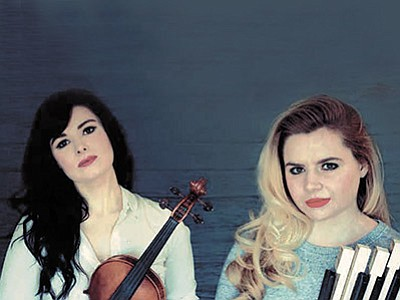 Courtesy photo<br> Sisters Cassie and Maggie MacDonald will perform the music and dance of Cape Breton Friday, Sept. 18, for the next concert in the Prescott Celtic Concert Series.
