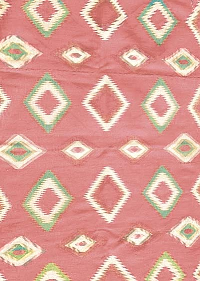 Courtesy<br /><br /><!-- 1upcrlf2 -->One of the auction's oldest rugs is a Germantown rug.