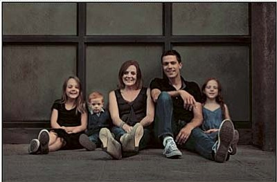 Courtesy photo<br> From left to right are Sophia, Ethan, Claire, Jason and Leia Drumm.
