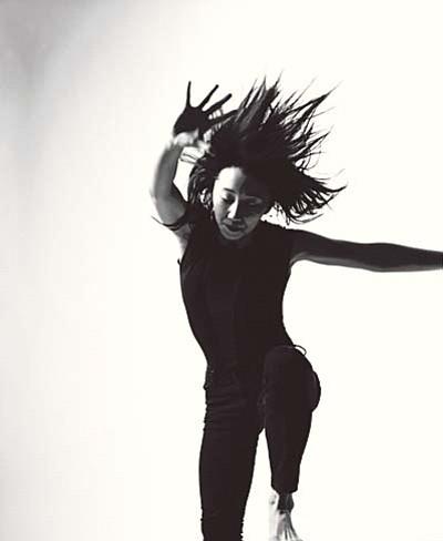 Courtesy of Prescott College<br>Photo of dance performer Maree ReMalia.