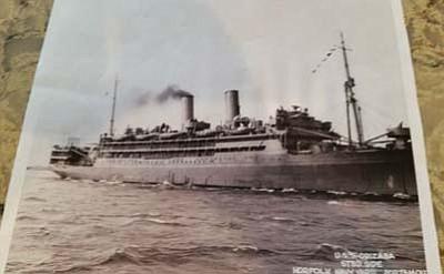 U.S.S. Orizaba, Koenig's first assignment